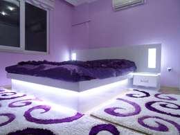 Dormitorios de estilo moderno por Akdeniz Dekorasyon