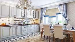 Квартира. Озерки.: Кухни в . Автор – Студия дизайна Elena-art