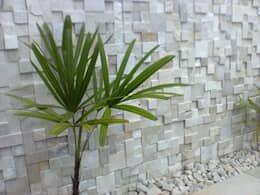 Giardino in stile in stile Moderno di DECOR PEDRAS PISOS E REVESTIMENTOS