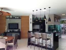 modern Dining room by ESTÚDIO danielcruz