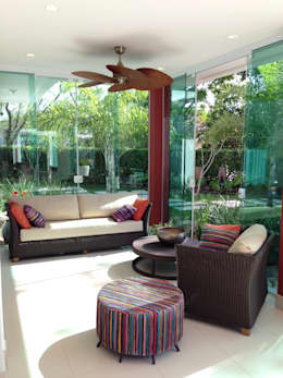 modern Living room by ESTÚDIO danielcruz