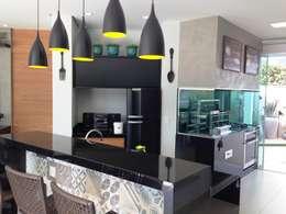 ESTÚDIO danielcruz: modern tarz Yemek Odası