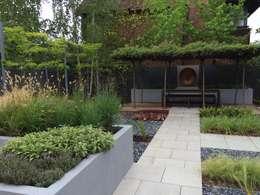 Jardines de estilo moderno por Borrowed Space