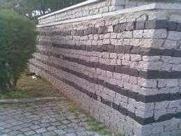 BAZALT KÜPTAŞ – www.mercandogaltas.com  : modern tarz Bahçe