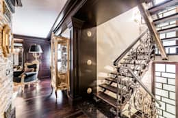 eclectic Corridor, hallway & stairs by Belimov-Gushchin Andrey