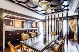 eclectic Dining room by Belimov-Gushchin Andrey