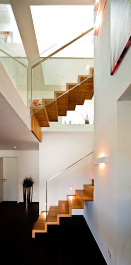 brügel_eickholt architekten gmbh:  tarz Koridor ve Hol