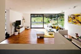 brügel_eickholt architekten gmbh: modern tarz Oturma Odası