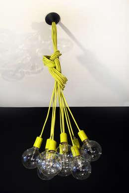 Lampa CableELEVEN: styl , w kategorii Salon zaprojektowany przez CablePower