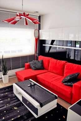 ห้องนั่งเล่น by Abakon sp. z o.o. spółka komandytowa