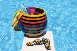 Jarre Bahia Poterie d'Albi: Piscine de style de style Moderne par Poterie d'Albi