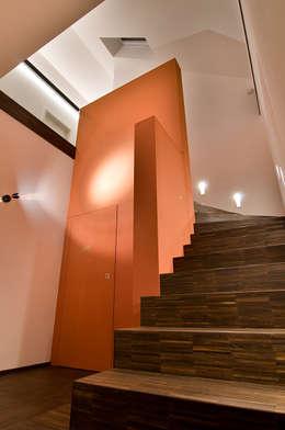 Corridor & hallway by wirges-klein architekten