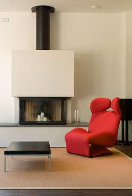 Projekty,  Salon zaprojektowane przez wirges-klein architekten