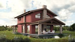 Projekty, klasyczne Domy zaprojektowane przez DomusGaia