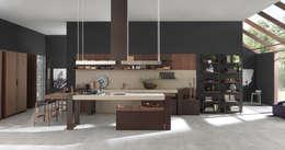 ARTS & CRAFT by PEDINI   ARTE CUCINE: Cocinas de estilo moderno por ARTE CUCINE/ PEDINI SAN ANGEL