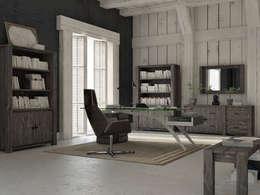 Wnętrze w stylu Country!: styl , w kategorii Domowe biuro i gabinet zaprojektowany przez Seart