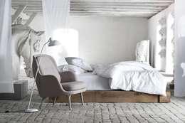 Fotel Fri™: styl , w kategorii Sypialnia zaprojektowany przez Mootic Design Store