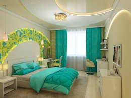 modern Bedroom by Студия дизайна Elena-art