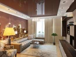 modern Living room by Студия дизайна Elena-art