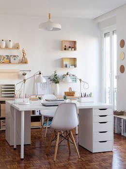 Bureau de style de style Méditerranéen par GLOBO ESTUDIO