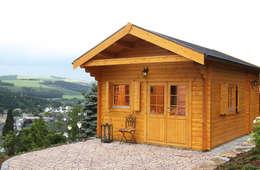 Projekty, klasyczne Domy zaprojektowane przez Gartenhaus2000 GmbH