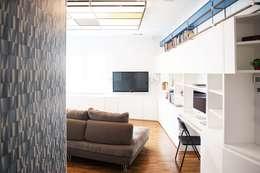 Projekty,  Salon zaprojektowane przez Antonio Buonocore