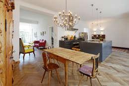 Revitalisierung Haus B. Düsseldorf: Skandinavische Esszimmer Von Kg5  Architekten