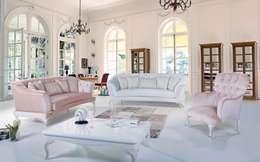 CESE HOME CONCEPT – Oturma Odası: modern tarz Oturma Odası