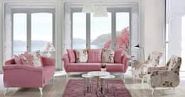 Projekty,  Salon zaprojektowane przez CESE HOME CONCEPT