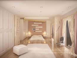 Sinar İç mimarlık – Ebeveyn Yatak Odası: klasik tarz tarz Yatak Odası