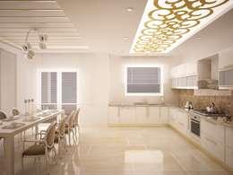 Cocinas de estilo clásico por Sinar İç mimarlık