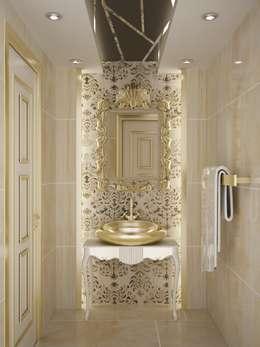 Sinar İç mimarlık – Sinem ARISOY KEÇECİ: klasik tarz tarz Banyo