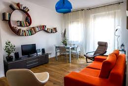 Livings de estilo asiático por LB Design e Allestimenti
