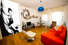 Projekty,  Salon zaprojektowane przez LB Design e Allestimenti