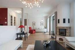 Wohnhaus Dresden Moderne Wohnzimmer Von SK Innenarchitektur