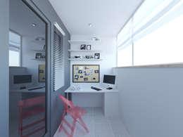 露臺 by OK Interior Design