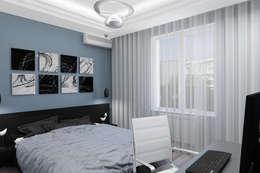 Quartos modernos por Студия дизайна и декора Светланы Фрунзе