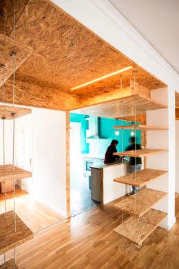 Reforma Low-Cost: Cocinas de estilo industrial de idearch studio