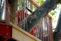 Terrasse a Aix en Provence: Jardin de style de style Asiatique par Cabaneo