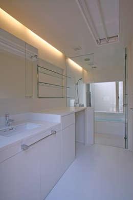 modern Bathroom by 設計事務所アーキプレイス