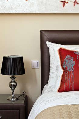 MIESZKANIE 54 M2: styl , w kategorii Sypialnia zaprojektowany przez KRAMKOWSKA PRACOWNIA WNĘTRZ