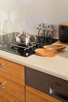 MIESZKANIE 54 M2: styl , w kategorii Kuchnia zaprojektowany przez KRAMKOWSKA PRACOWNIA WNĘTRZ
