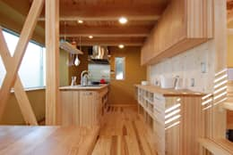 eclectic Kitchen by 豊田空間デザイン室 一級建築士事務所