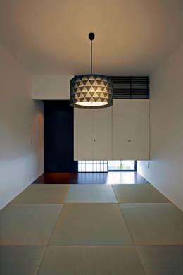 eclectic Media room by 設計事務所アーキプレイス