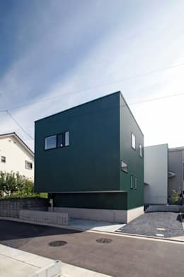 modern Houses by 設計事務所アーキプレイス