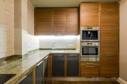 Квартира на Можайском шоссе: Кухни в . Автор – Irina Tatarnikova