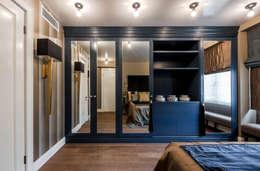 Projekty,  Sypialnia zaprojektowane przez Irina Tatarnikova
