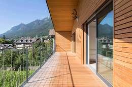 Projekty,  Taras zaprojektowane przez Manuel Benedikter Architekt