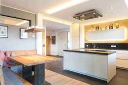 Projekty,  Kuchnia zaprojektowane przez Manuel Benedikter Architekt
