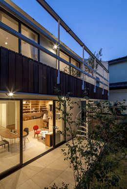緑あふれるアトリエのある家: 設計事務所アーキプレイスが手掛けた家です。